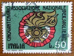 1974 ITALIA Militari Reggimenti Bersaglieri Italian  Guards - Lire 50 Usato - 1971-80: Gebraucht