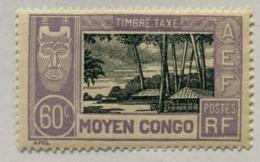 Congo 1930 Y Et T  T19* - Unused Stamps