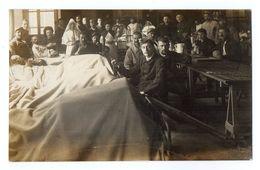 CPA 2953 - MILITARIA - Carte Photo Militaire - Blessés & Infirmières -  Hopital Auxiliaire N° 8 à VESOUL - Personnages