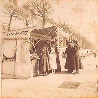 Paris (?) - Boutique Jeux Animée Photo Stéréo Stéréoscopique Sur Carton (1880-1900) - Fotos Estereoscópicas