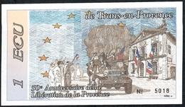 FRANCE NLP 1 ECU 1994 Trans En PROVENCE UNC. - Frankrijk