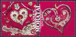 2013 France Yv# 4717/4718  **MNH  TTB Très Beau. Saint-Valentin. Hermès (Yvert&Tellier) - France