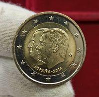 España 2 Euros Proclamación Felipe VI 2014 Km 1325 SC UNC - Spagna