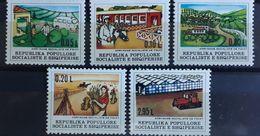 Albanien 1977, Mi 1906-10 MNH Postfrisch - Albanien