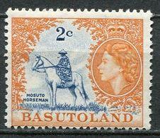 Basutoland Mi# 74 Postfrisch/MNH - Horse Man - 1933-1964 Colonie Britannique