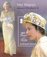 2016 Falkland Islands QEII Fashion Style Souvenir Sheet MNH @FACE VALUE - Falkland Islands
