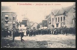 SINT LIEVENS HOUTEM  JUBELFEEST VAN DEN H LIVINUS    2 AFBEELDINGEN - Sint-Lievens-Houtem