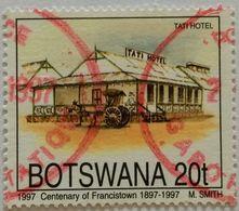 022. BOTSWANA 1997 USED STAMP FRANCIS TOWN TATI HOTEL - Botswana (1966-...)