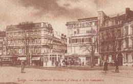 Belgique - Liége - Carrefour Du Boulevard D'Avroy Et De La Sauveniere-  Cpa - Luik