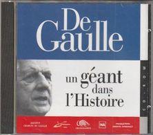 Cd Rom Pour Pc DE GAULLE Un Géant Pour L'histoire - Documentary