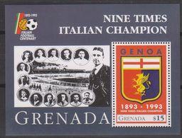 Soccer - Football - GRENADA - S/S MNH - Calcio