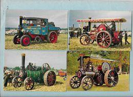 TRACTEURS Américains Et Angais - Lot 4 Cpsm - Tractores
