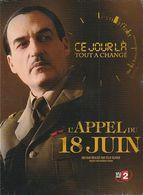 DVD Film  L'appel Du 18 Juin DE GAULLE - DVDs