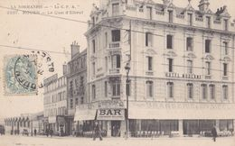 ROUEN LE QUAI D' ELBEUF BRASSERIE XXe SIECLE HOTEL MODERNE ( Vue Peu Courante ) - Rouen