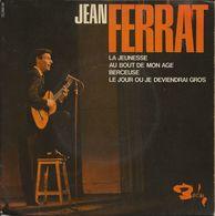JEAN FERRAT - LA JEUNESSE - VINYL 45 TOURS - Classical