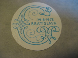 BRATISLAVA1975 Poster Stamp Vignette SLOVAKIA Label Czechoslovakia - Slovacchia