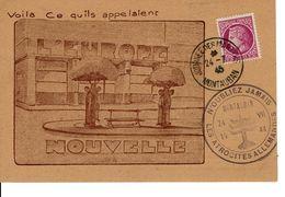 82 MONTAUBAN Cachet Commémoratif Journée Des Martyrs 24/07/1945 Seconde Guerre Mondiale 658 - Cachets Commémoratifs