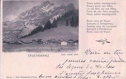 Gryon VD, Taveyannaz Et Poésie (12.9.02) - VD Vaud