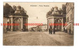 FAENZA - PORTA RAVENNA F/PICCOLO VIAGGIATA 1919 ANIMATA - Faenza