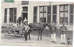 FRONTIERE FRANCO BELGE - La Visite De La DOUANE - Attelage Cheval - Belle Animation - Douane