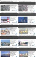 10-TICKETS MAGNETIQUE-FRANCE-LA ROCHELLE-10 TK PARKING-2019/2020-TBE-Tous Différents Visuels Ou Couleurs - Bus