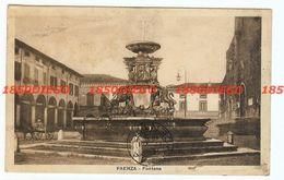 FAENZA - FONTANA F/PICCOLO VIAGGIATA 1929 ANIMATA - Faenza