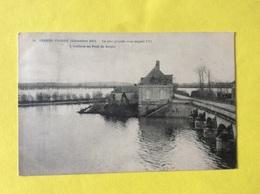 Les Ponts De Cé , Sorges L Athion En Crue Au Pont De Sorges 1910  Visuel Rarissime - Les Ponts De Ce
