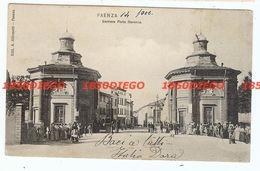 FAENZA - BARRIERA PORTA RAVENNA F/PICCOLO VIAGGIATA 1906 ANIMATA - Faenza