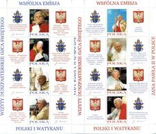 2004 POLONIA SET MNH ** 3860/3867 Giovanni Paolo II - 1944-.... Republic