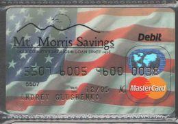 КАРТА  MASTERCARD  РОССИЯ-2 - Credit Cards (Exp. Date Min. 10 Years)