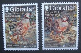 Gibraltar      Europa  Cept   Nationale Vögel   2019    ** - 2019