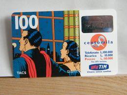 T432 TIM - TELECOM - 100.000 LIRE MANDRAKE E NADA ALLA FINESTRA - SET 2001 - 11 - PVC N° 198881209 - [2] Tarjetas Móviles, Prepagadas & Recargos