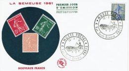 """1961 - Oblitération Temporaire """"MUSEE POSTAL - PARIS"""" - Cachets Commémoratifs"""