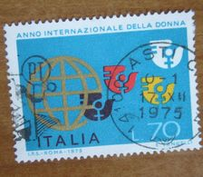 1975 ITALIA Anno Internazionale Della Donna  - Lire 70 Usato - 1971-80: Gebraucht