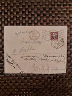Oued-Fodda Algérie Pour Azeba Algérie ( Le 19 09 1962) Algérie Française - Covers & Documents
