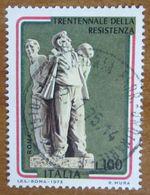1975 ITALIA Monumento Triennale Della Resistenza Martirio Fosse Ardeatine Francesco Coccia - Lire 100 Usato - 1971-80: Gebraucht