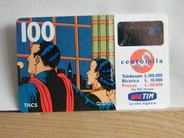 T435 TIM - TELECOM - 100.000 LIRE MANDRAKE E NADA ALLA FINESTRA - NOV 2000 - 11 - PVC N° 070066117 - [2] Tarjetas Móviles, Prepagadas & Recargos