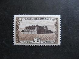 TB N° 913a: Brun Jaune Et Violet Brun , Neuf XX. - Varieties: 1950-59 Mint/hinged