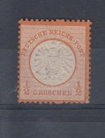 Reich Michel Kat.Nr. 18 FZL Ohne Gummi - Deutschland