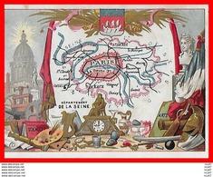 CHROMOS. Département De La Seine...S273 - Artis Historia