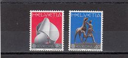 Suisse - Année 1974 - Neuf** - N°Zumstein 556/57** - Europa - Nuovi