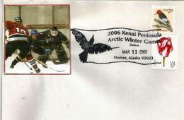 USA.Arctic Winter Sports Games In Alaska In 2006 (Homer , Alaska) Hockey Sur Glace - Eishockey