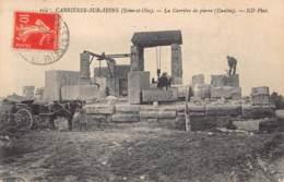 78 - YVELINES - CARRIERES SUR SEINE - 10305 - Carrière De Pierre - Buc