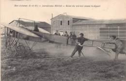 78 - YVELINES - BUC - 10302 - Aviation - Aérodrome Blériot - Essai Moteur Avant Départ - Buc
