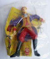 RARE JOUET QUICK Figurine 1998 ZORRO MONTERO En Sachet Complet - Figurines