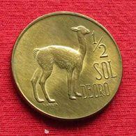 Peru 1/2 Half Sol De Oro 1974 KM# 260  Perou - Pérou