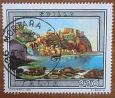 1979 ITALIA Turismo Paesaggi Scilla - Lire 220 Usato - 1971-80: Gebraucht