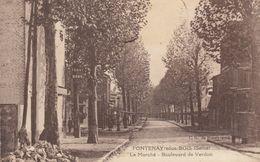 91 :  Fontenay Sous Bois  : Le Marché      ///  Ref.  Juin   20  /// N° 11.806 - Fontenay Sous Bois