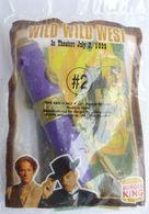 RARE JOUET BURGER KING N°2 1999 WILD WILD WEST  En Sachet Complet - Figurines
