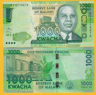 Malawi 1000 Kwacha P-62 2017 UNC Banknote - Malawi